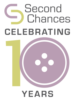 Second Chances Anniversary Logo