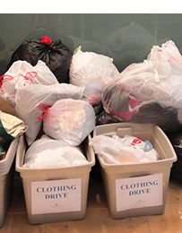 Second Chances clothing donations